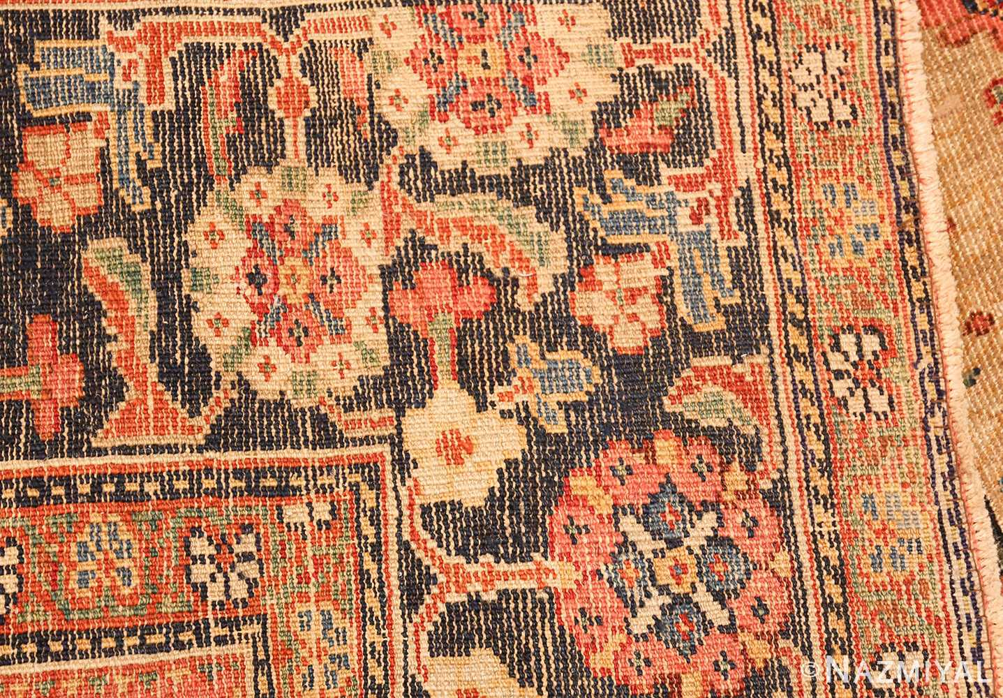 gold background antique sultanabad persian rug 49360 weave Nazmiyal