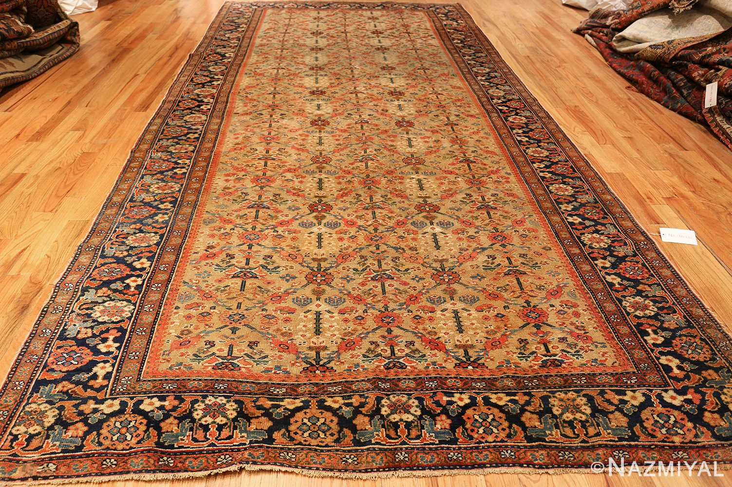 gold background antique sultanabad persian rug 49360 whole Nazmiyal