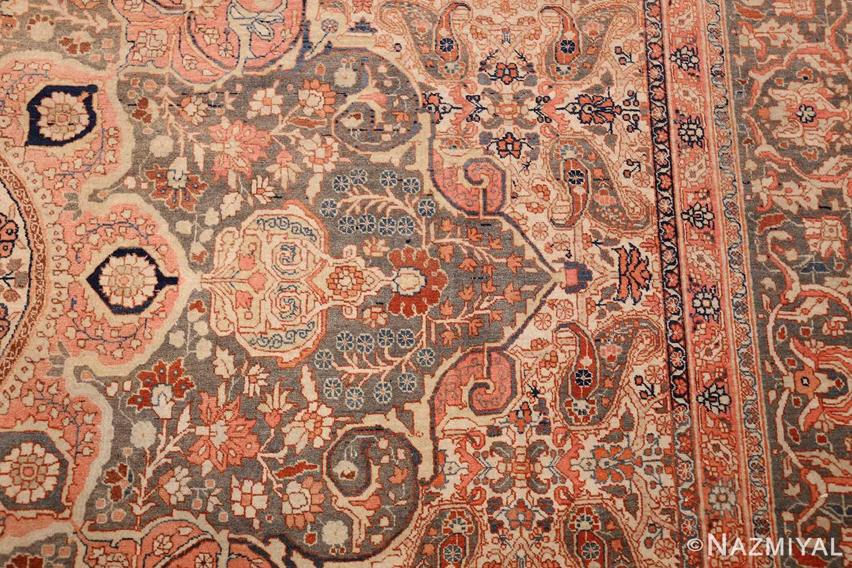 ivory haji jalili tabriz persian rug 49346 design Nazmiyal