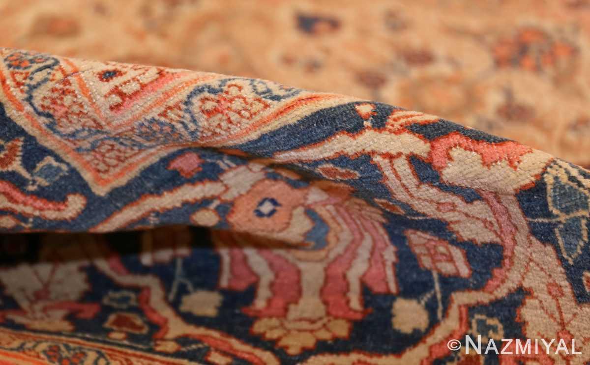 ivory haji jalili tabriz persian rug 49346 pile Nazmiyal