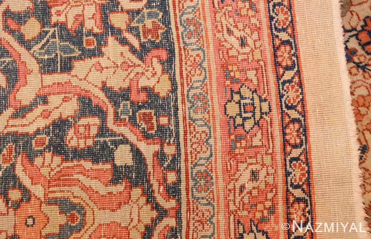 ivory haji jalili tabriz persian rug 49346 weave Nazmiyal