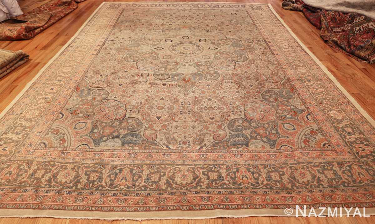ivory haji jalili tabriz persian rug 49346 whole Nazmiyal