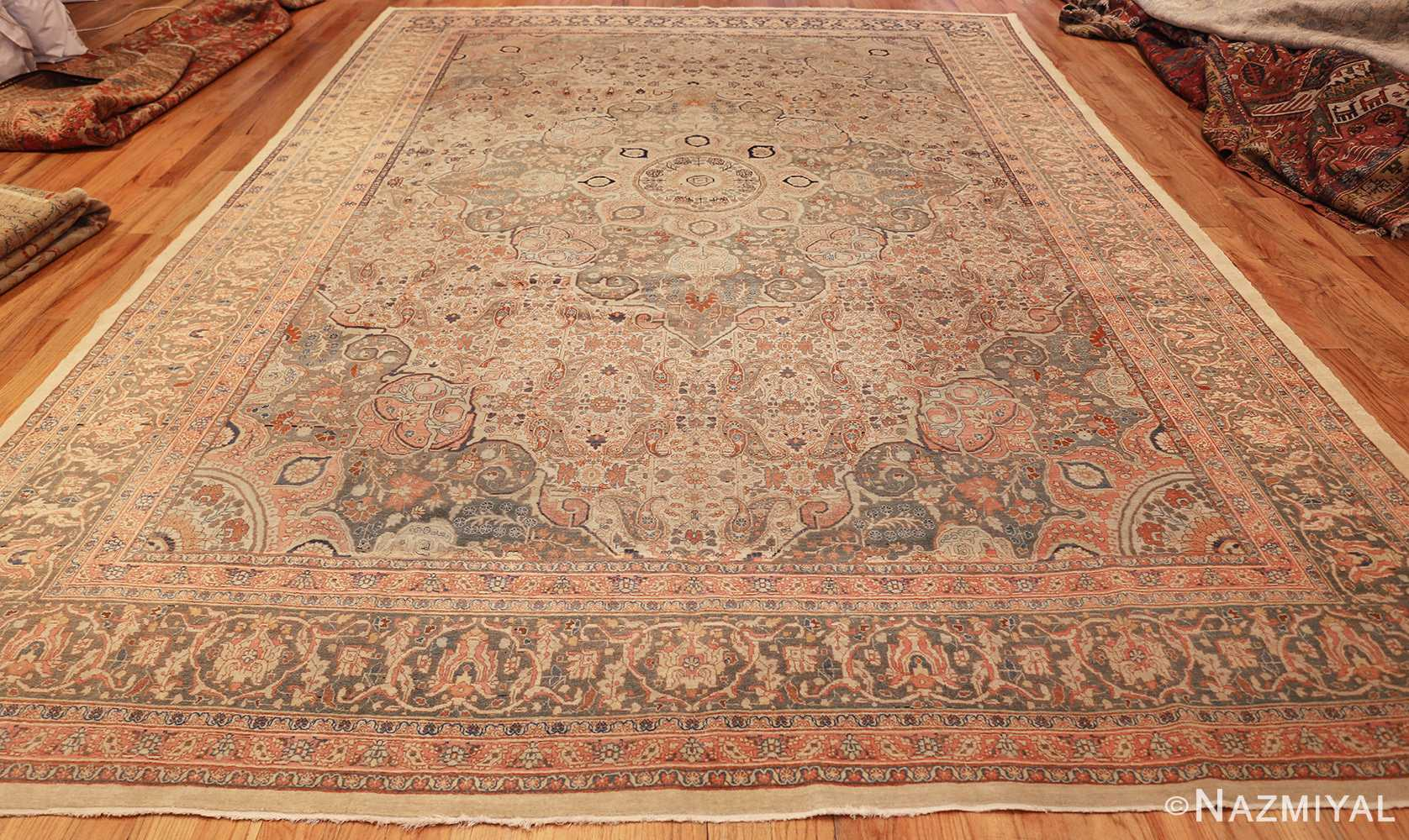 ivory haji jalili tabriz persian rug 49346 whole Nazmiyal