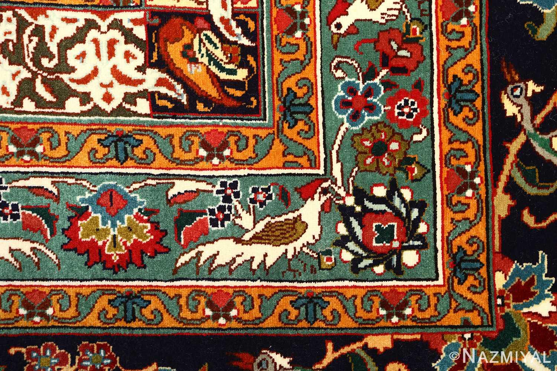 large animal motif vintage tabriz persian rug 51122 bud Nazmiyal