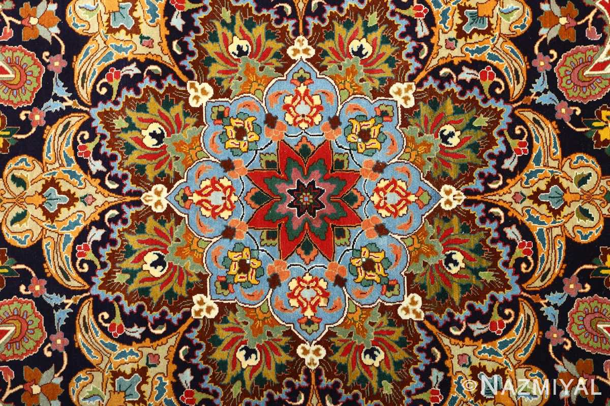 large animal motif vintage tabriz persian rug 51122 middle Nazmiyal