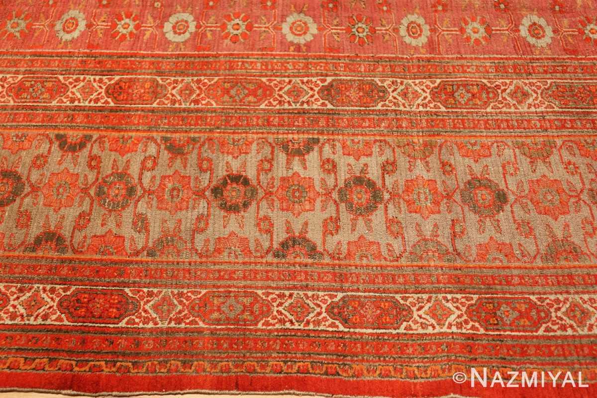 large antique khorassan persian rug 49365 border Nazmiyal