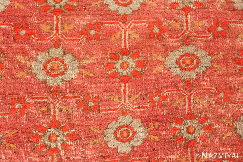 large antique khorassan persian rug 49365 detailed Nazmiyal