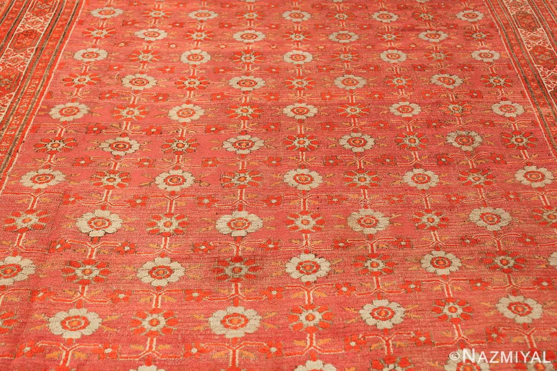 large antique khorassan persian rug 49365 field Nazmiyal