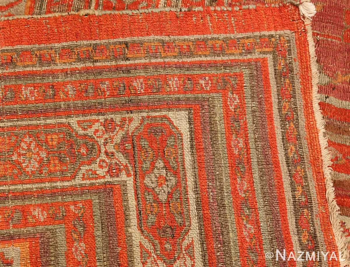 large antique khorassan persian rug 49365 weave Nazmiyal