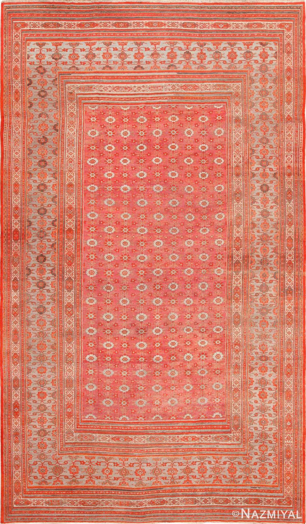 large antique khorassan persian rug 49365 Nazmiyal
