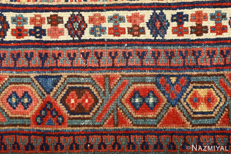 large antique serab persian rug 51118 border Nazmiyal