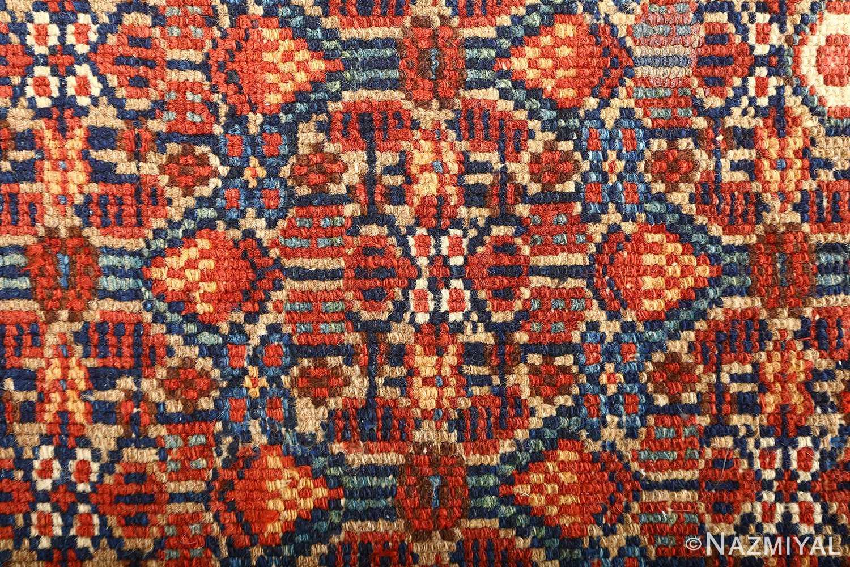 large antique serab persian rug 51118 circle Nazmiyal