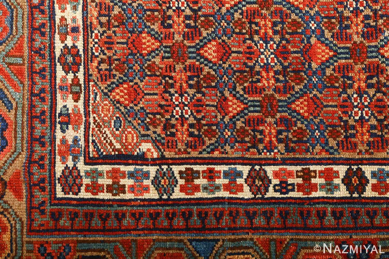 large antique serab persian rug 51118 corner Nazmiyal