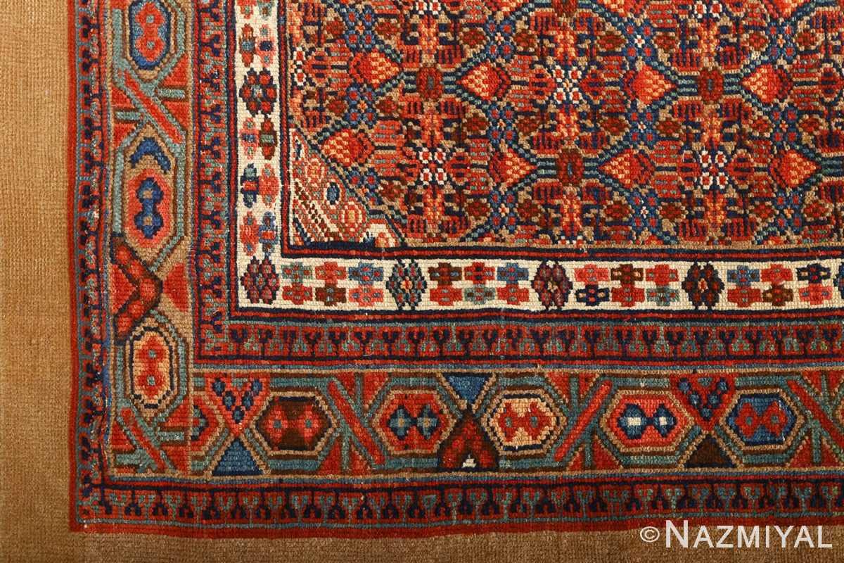 large antique serab persian rug 51118 part Nazmiyal