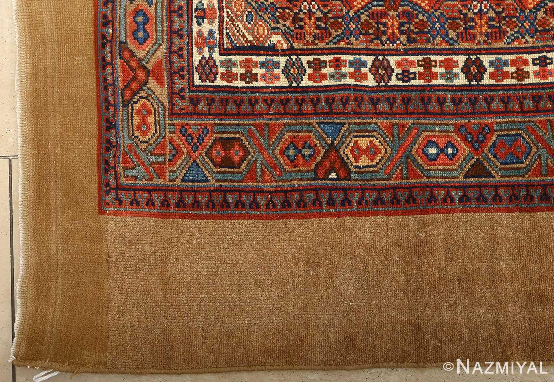 large antique serab persian rug 51118 pattern Nazmiyal