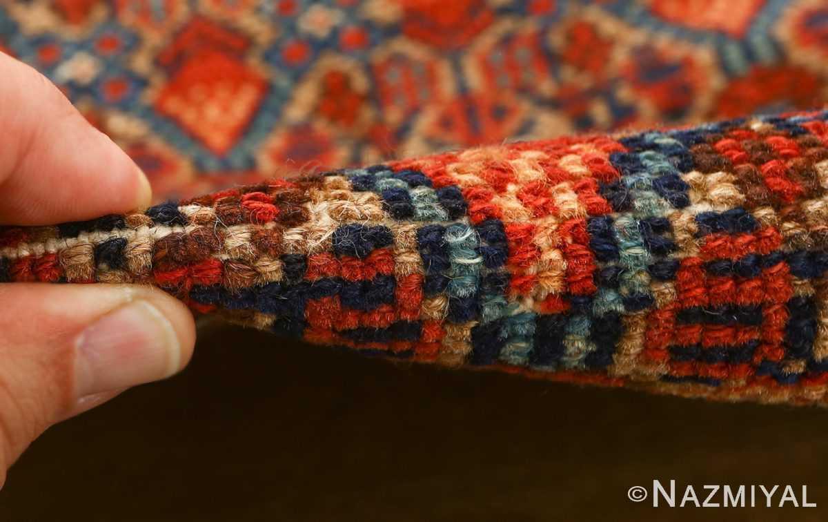 large antique serab persian rug 51118 pile Nazmiyal
