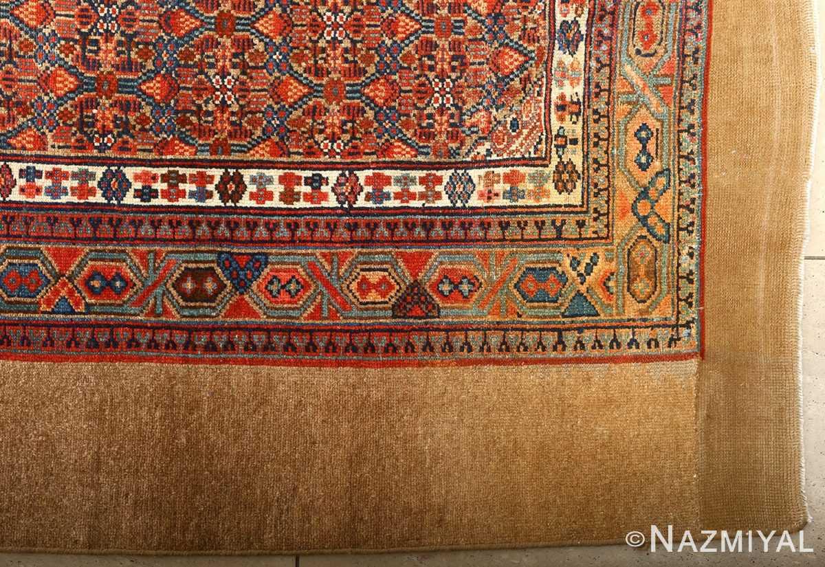 large antique serab persian rug 51118 side Nazmiyal