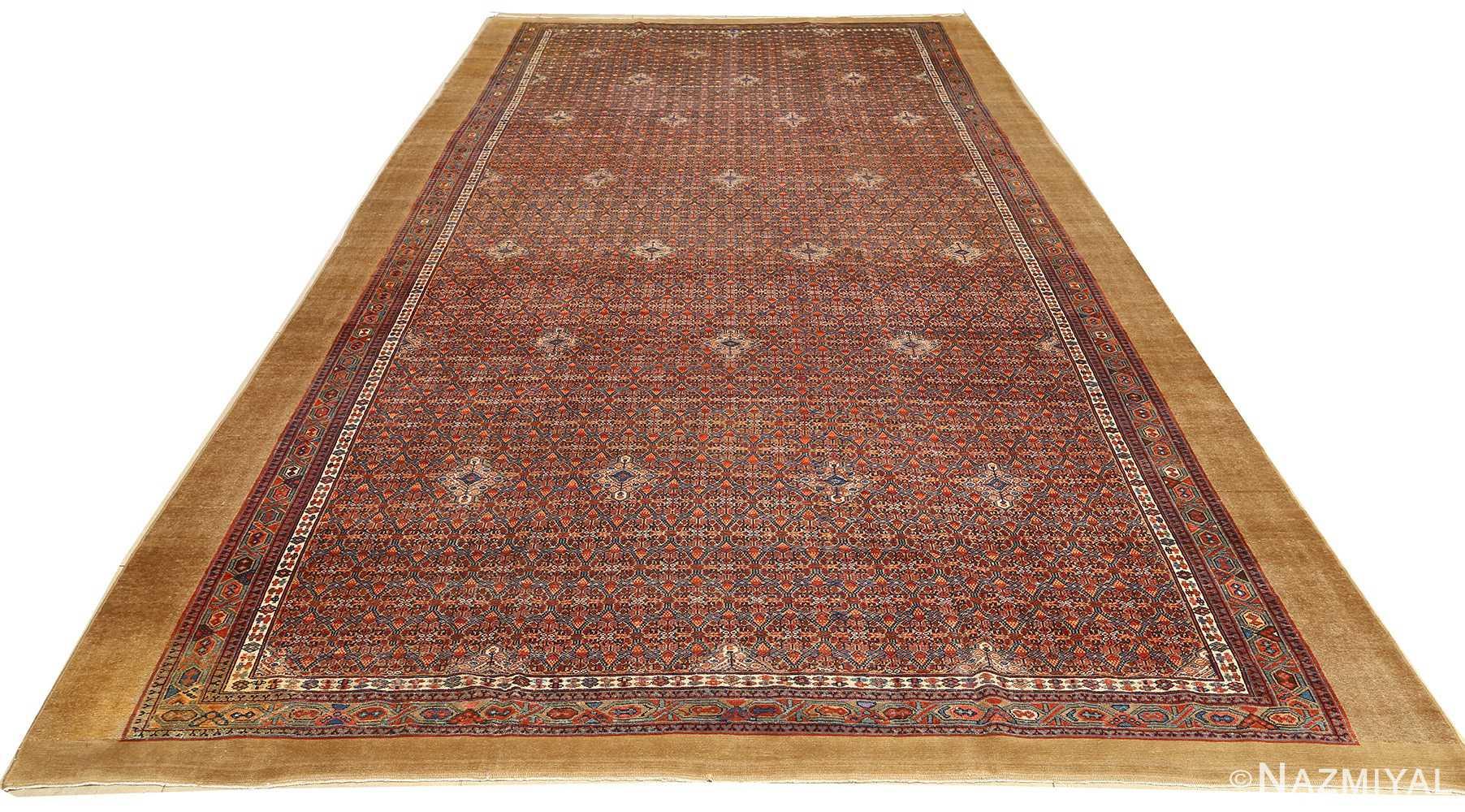 large antique serab persian rug 51118 whole Nazmiyal