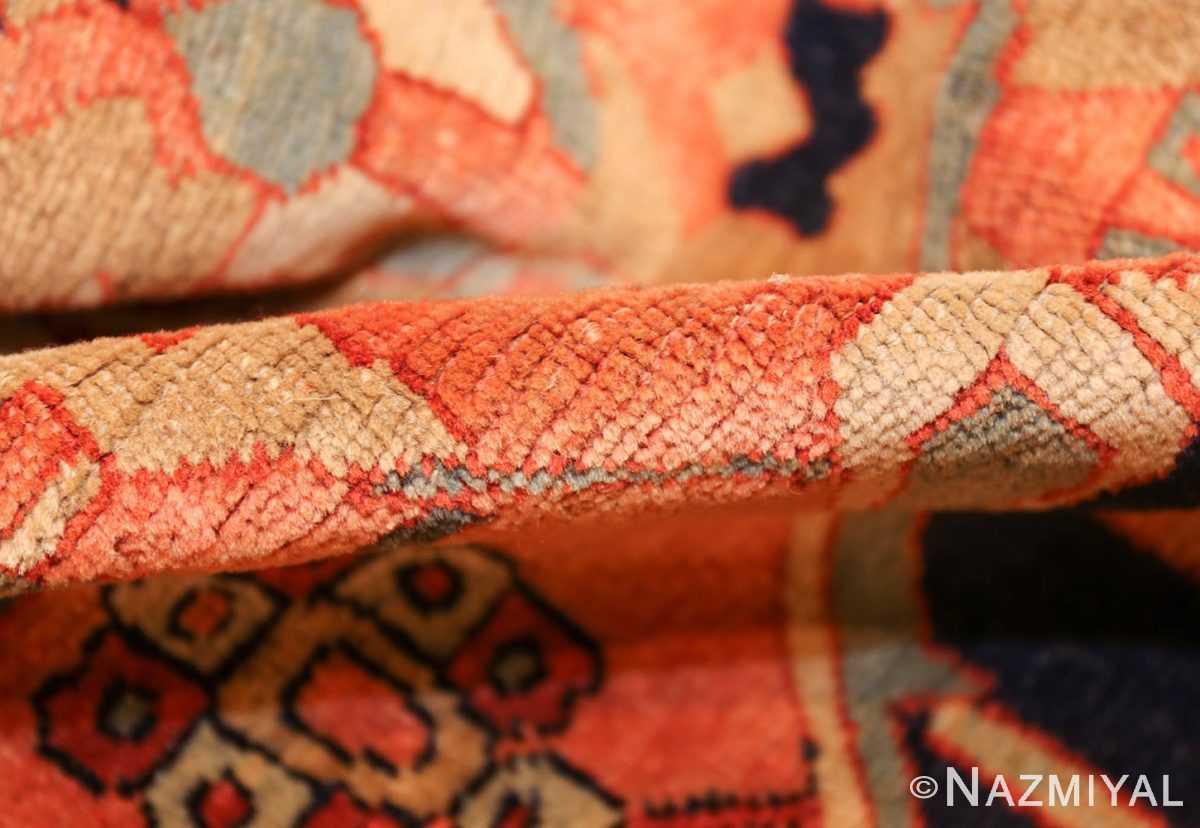 large antique serapi persian rug 49324 pile Nazmiyal