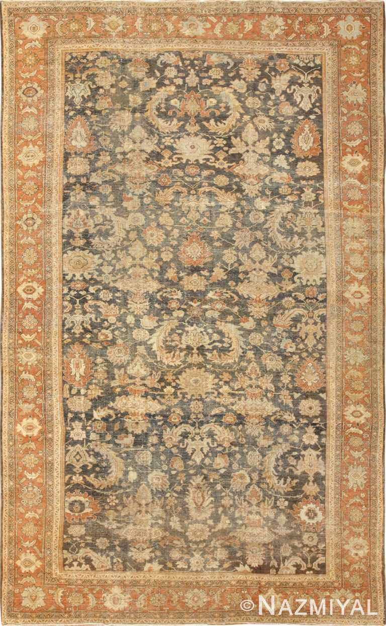 large antique sultanabad persian rug 49366 Nazmiyal