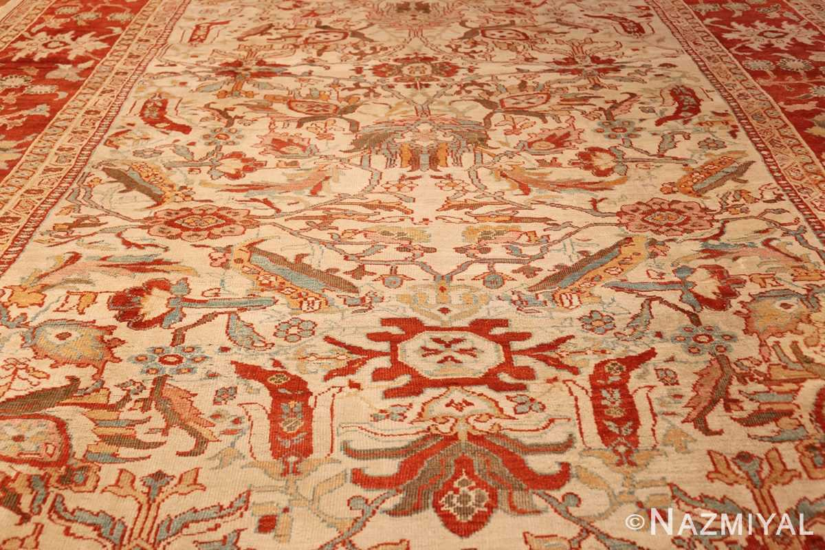 large antqiue ziegler sultanabad rug 49322 full Nazmiyal