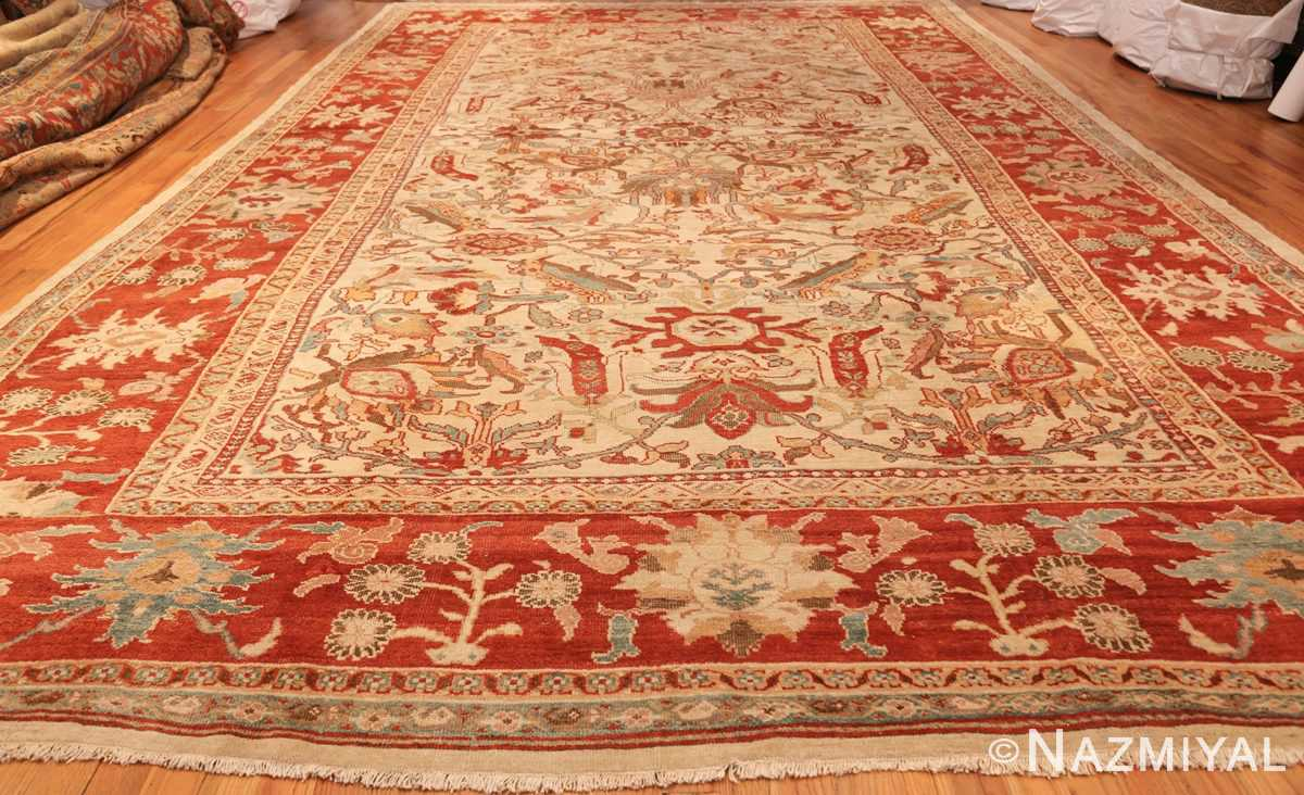 large antqiue ziegler sultanabad rug 49322 whole Nazmiyal