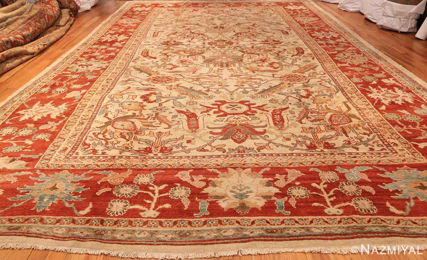 large antqiue ziegler sultanabad rug 49322 whole Nazmiyal