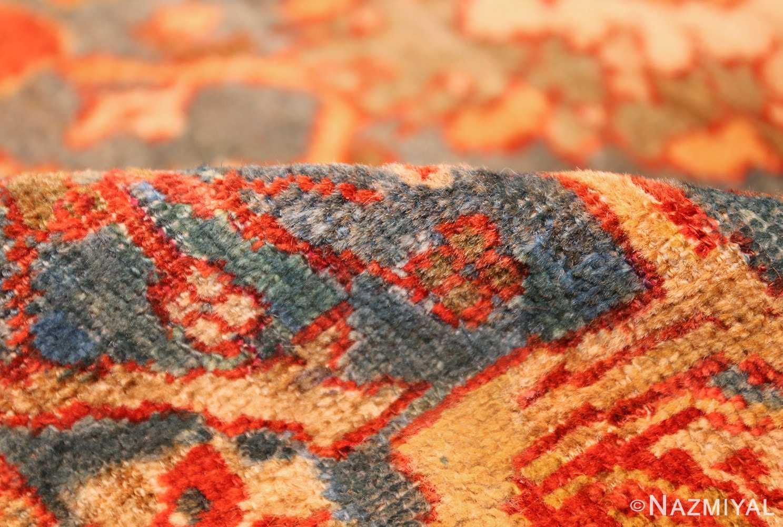 large blue background sultanabad persian rug 49300 pile Nazmiyal