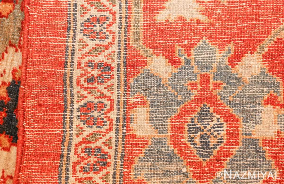 large blue background sultanabad persian rug 49300 weave Nazmiyal