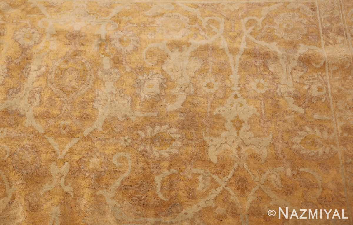 large gold background antique tabriz persian rug 49319 design Nazmiyal Nazmiyal