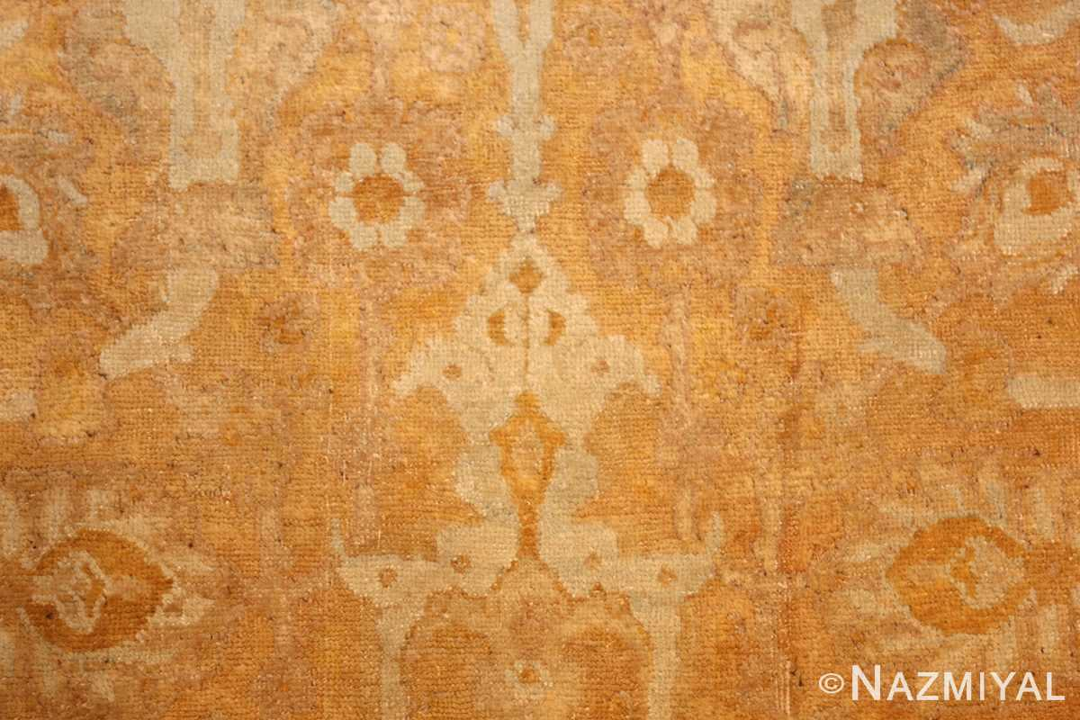 large gold background antique tabriz persian rug 49319 design Nazmiyal