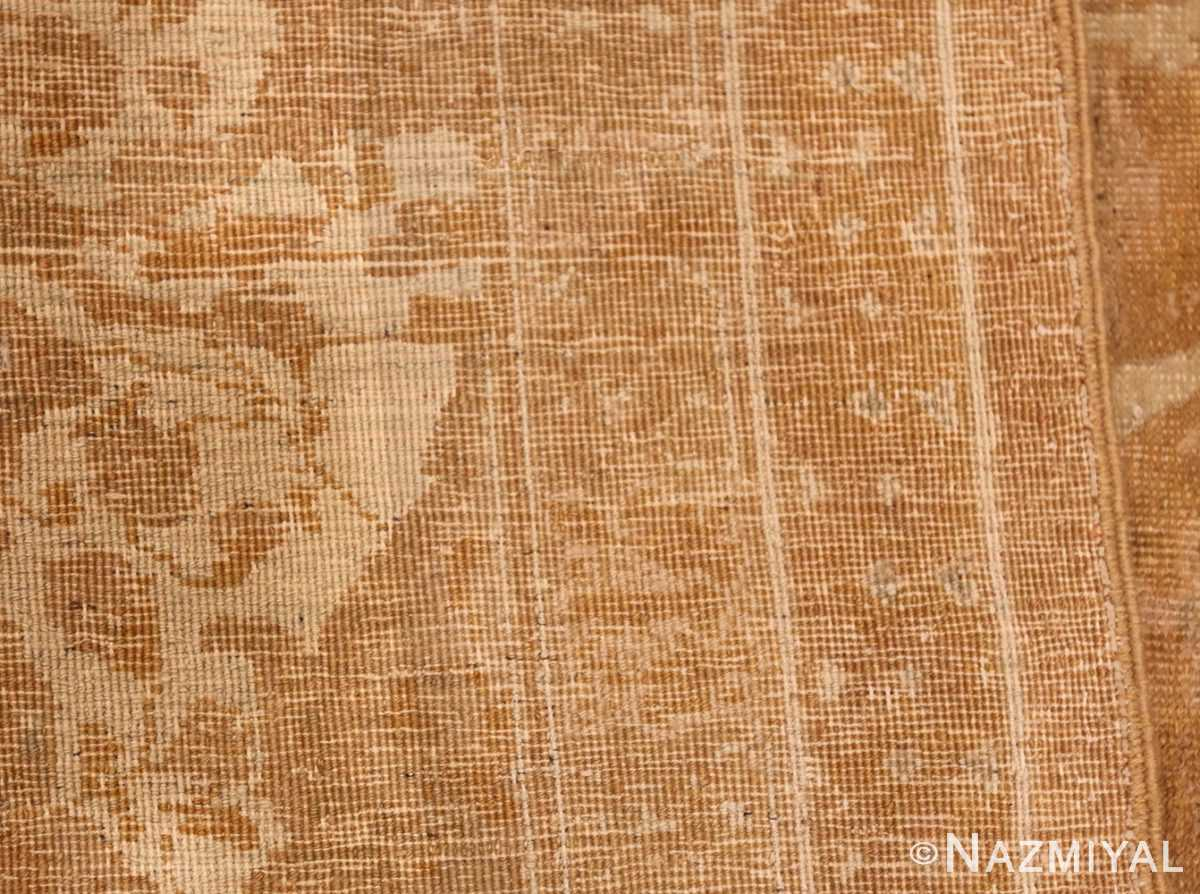 large gold background antique tabriz persian rug 49319 weave Nazmiyal