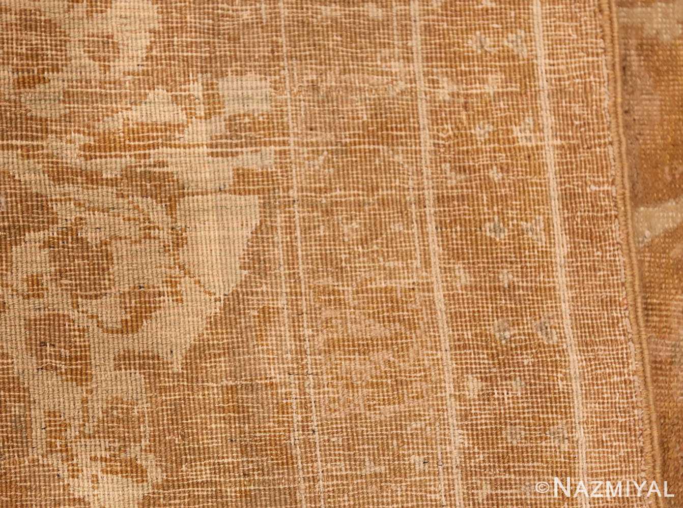 large gold background antique tabriz persian rug 49319 weave Nazmiyal
