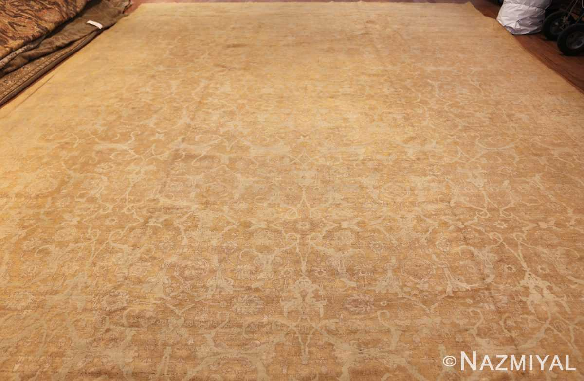 large gold background antique tabriz persian rug 49319 whole Nazmiyal