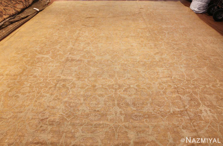 large gold background antique tabriz persian rug 49319 whole Nazmiyal