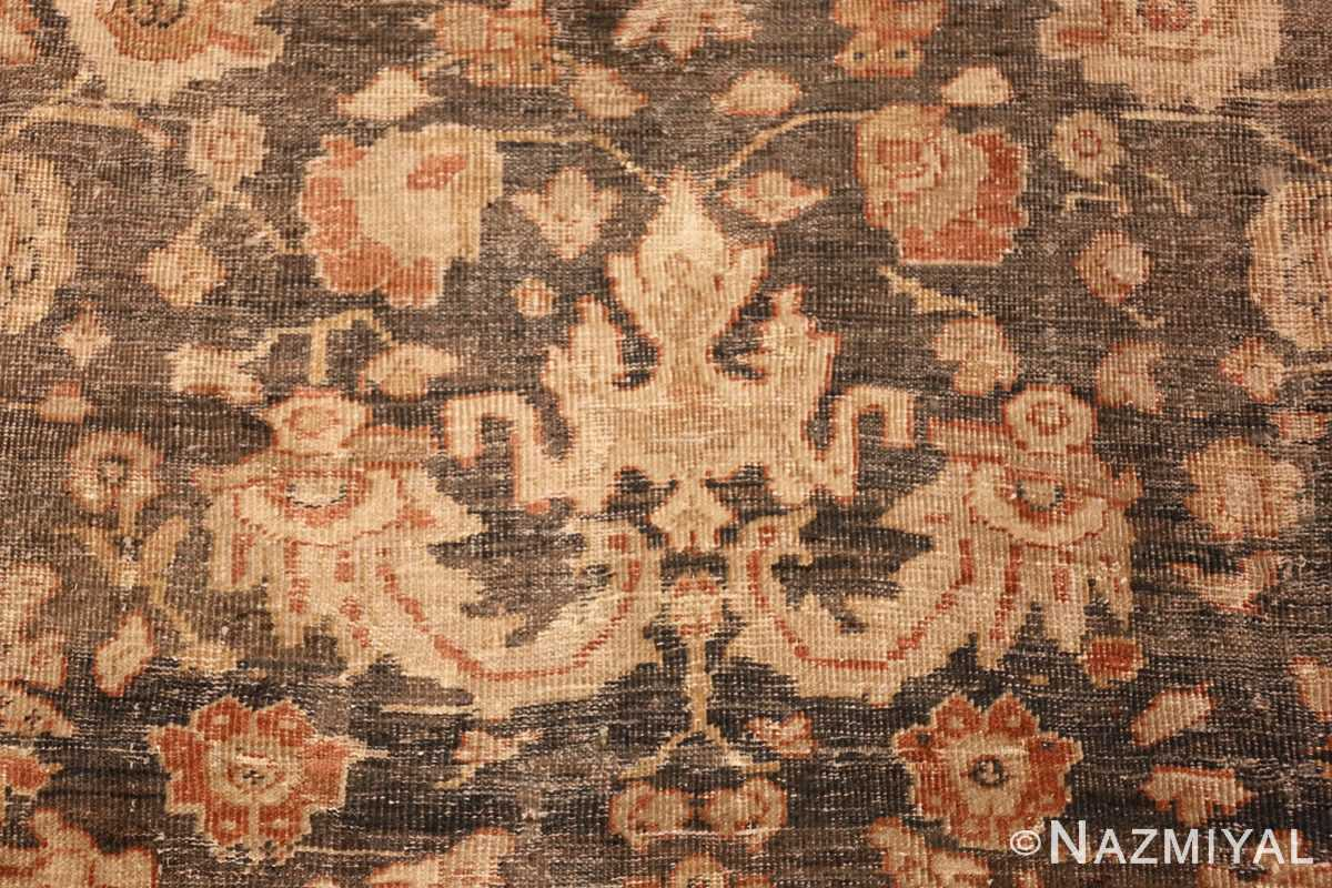 large gray antique sultanabad persian rug 49366 design Nazmiyal