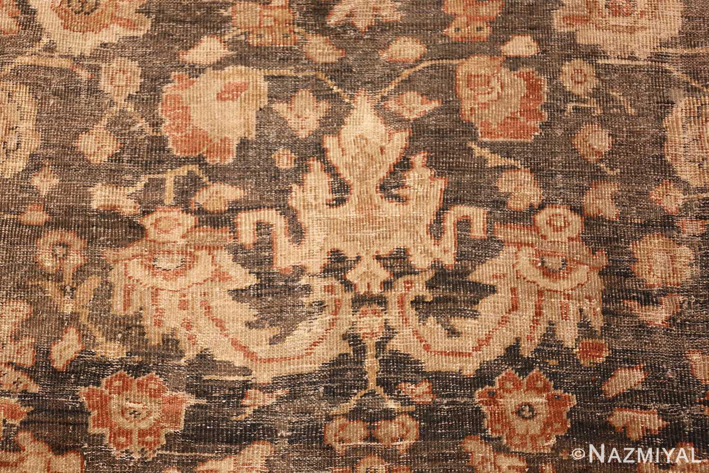 large gray antique sultanabad persian rug 49366 design Nazmiyal