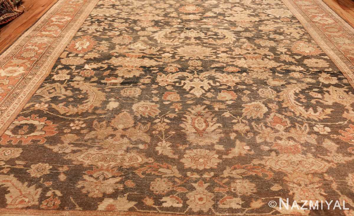 large gray antique sultanabad persian rug 49366 field Nazmiyal