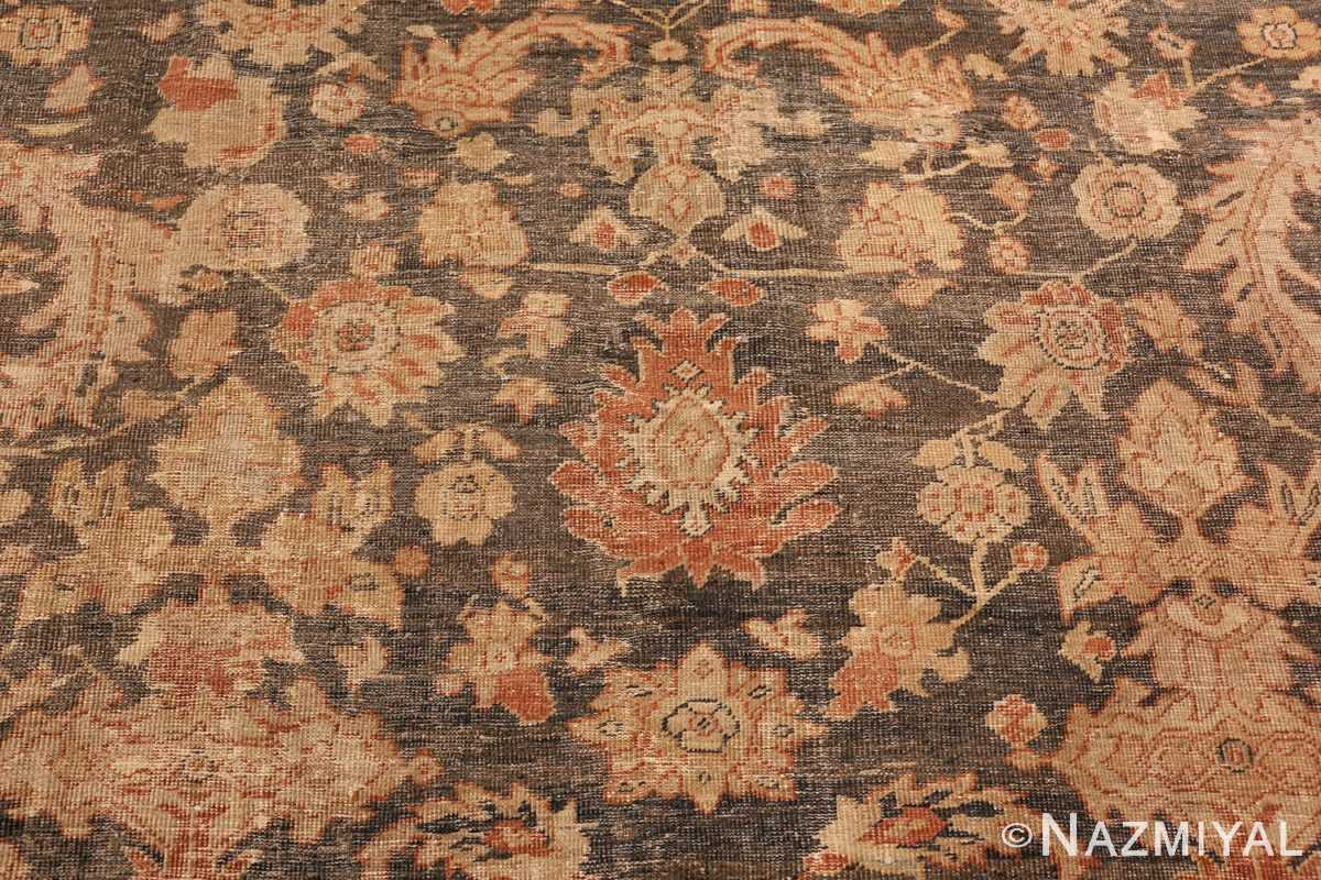 large gray antique sultanabad persian rug 49366 red Nazmiyal