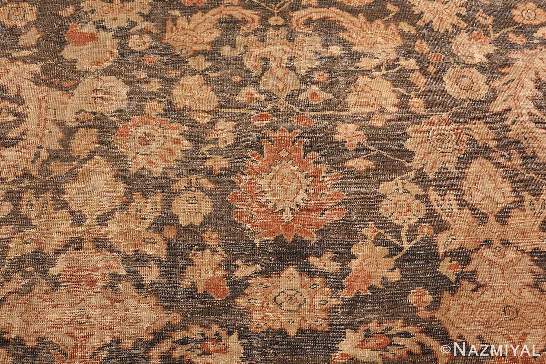 large gray antique sultanabad persian rug 49366 red Nazmiyal