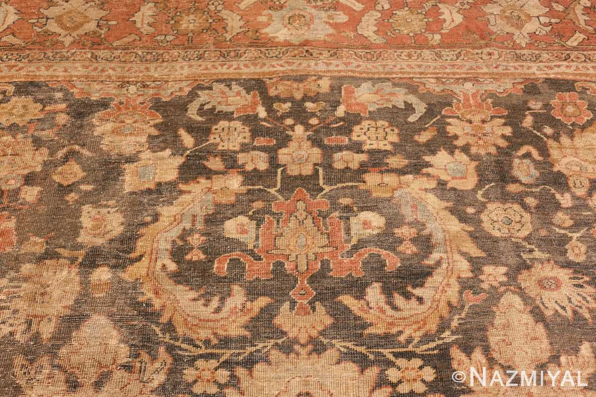 large gray antique sultanabad persian rug 49366 top Nazmiyal