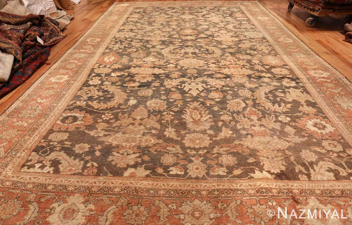 large gray antique sultanabad persian rug 49366 whole Nazmiyal