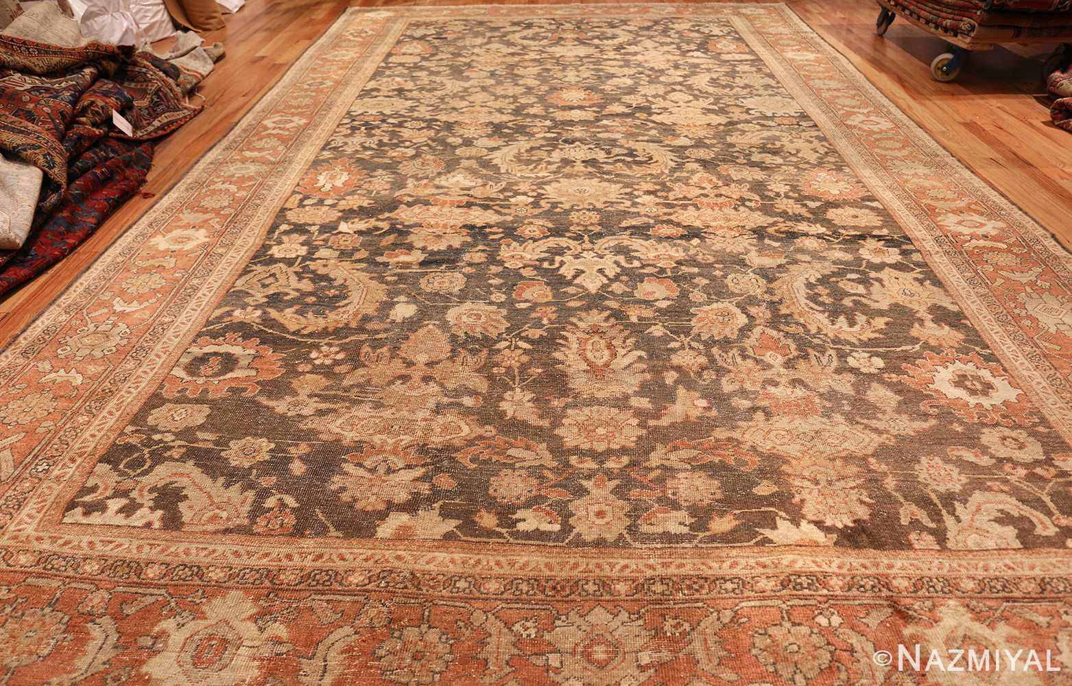 large gray antique sultanabad persian rug 49366 whole Nazmiyal