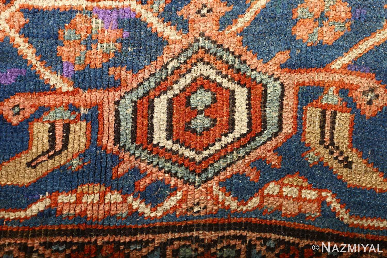 large red antique serapi persian rug 51121 dark Nazmiyal