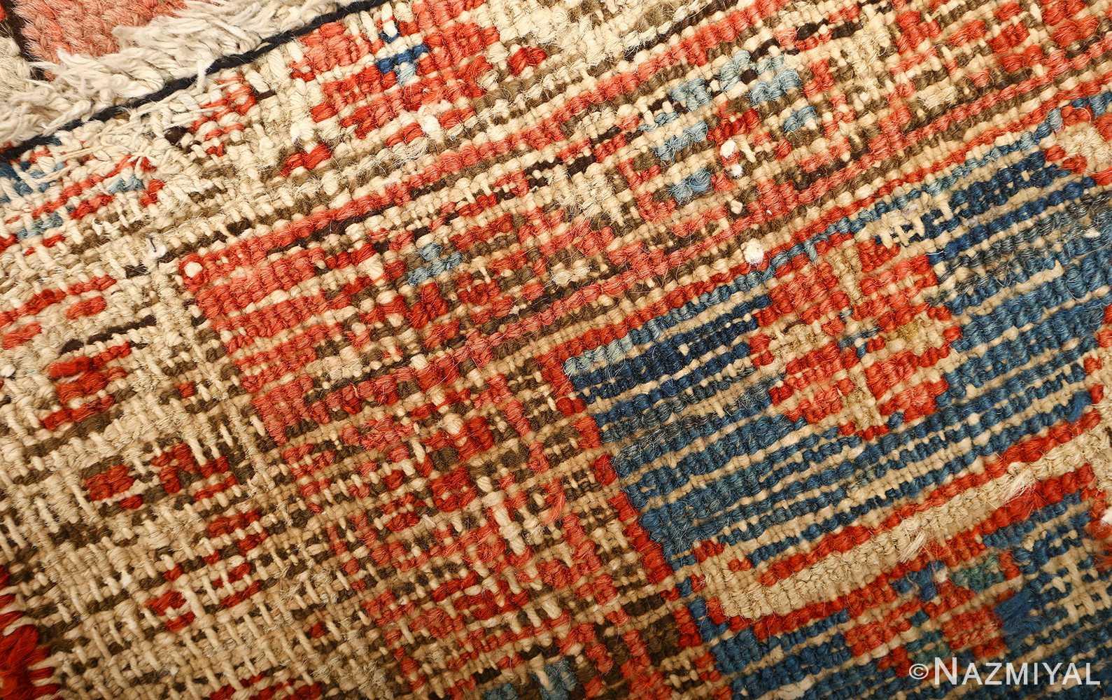 large red antique serapi persian rug 51121 weave Nazmiyal