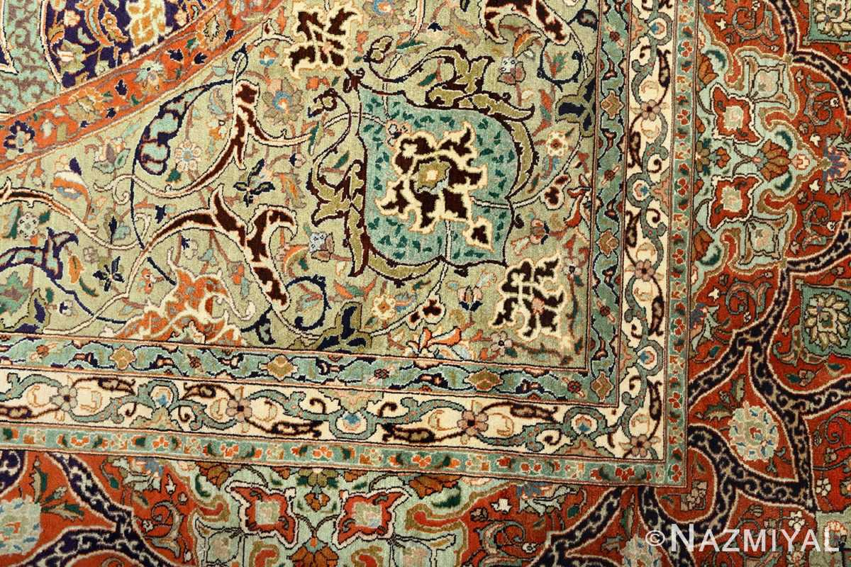 large vintage tabriz persian rug 51124 design Nazmiyal
