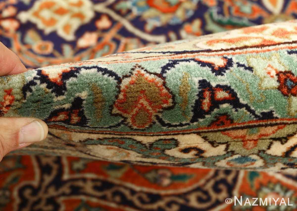 large vintage tabriz persian rug 51124 pile Nazmiyal