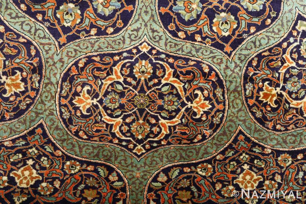 large vintage tabriz persian rug 51124 slimi Nazmiyal