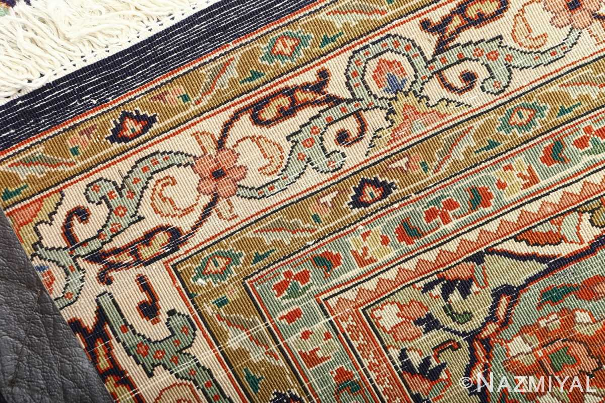 large vintage tabriz persian rug 51124 weave Nazmiyal