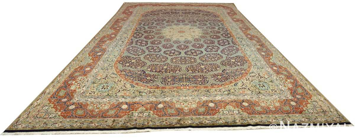 large vintage tabriz persian rug 51124 whole Nazmiyal